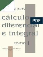 Calculo Diferencial e Integral. Tomo I - 1 - Piskunov.pdf