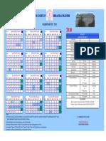 Himachal Pradesh High Court Calendar,2018