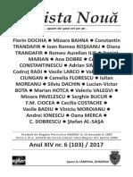 Revista Nouă 6 2017