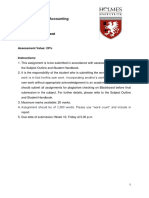 Managerial Accounting Assignment Guide