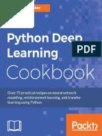 Python Deep Learning Cookbook - Indra Den Bakker