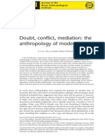 BEAR Doubt Conflict Mediation