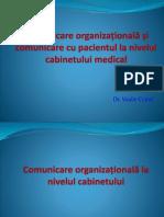 Curs 9 Si 10 Comunicare Organiza Ionala Si Cu Pacientul