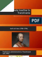 Reformele Iosefine În Transilvania