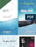 ICEIC2015 Program