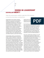 What's Missing in Leadership Development