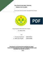 Laporan Praktikum Kimia Terapan