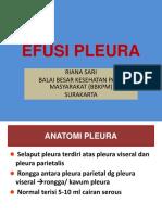 Efusi Pleura & Empyema