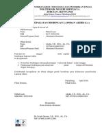 Surat Kesepakatan, Konsultasi, Persetujuan LA Nisa