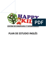 Plan de Estudio Ingles 2017