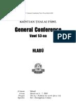 General Conference Hlabu