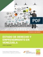 Estado de Derecho y Emprendimiento en venezuela - CEDICE.pdf