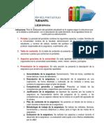 Estructura Del Portafolio Estudiantil UAM