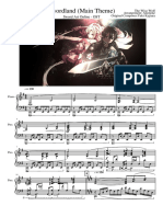 Sword Art Online - Swordland Main Theme - Piano - VideoScore