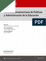 Revista Latinoamericana de Política y Administración de la Educación #004