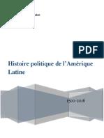Histoire Politique de LAmérique Latine CURS PREDA