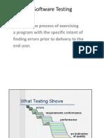 1.Software Testing