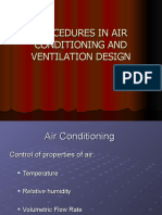 2 Procedures in Air Conditioning and Ventilation Design 1