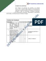 Cuestionario de Evidencias Tecnoglass SA