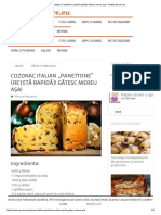"""Cozonac italian """"Panettone"""" (rețetă rapidă)! Gătesc mereu așa! - Retete-Usoare.pdf"""