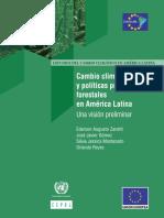 Cambio Climático y Políticas Públicas Forestales en América Latina