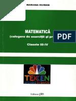 Culegere Matematica 10-12