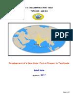 1. Enayam Port Brief Note  August , 2017.docx