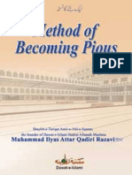 Method of Becoming Pious