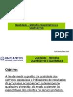 5 - Qualidade - Metodos