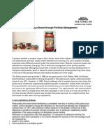 A Product Portfolio Dolmia Casestudy