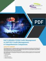 SAP S 4HANA FSCM Credit Management vs SAP ECC Credit Management