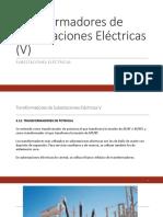 Transformadores de Subestaciones Eléctricas V