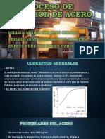 Proceso de Obtencion de Acero PDF