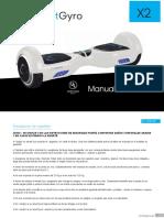 Manual SmartGyro X2