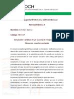 Ciclo de Refrigeración Cristian García 2