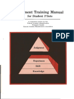 Judgment Training Manual for Student Pilots