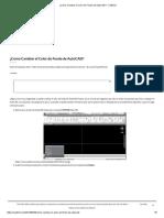 ¿Como Cambiar El Color de Fondo de AutoCAD_ - CAD2x3