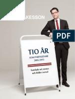 Tio år som Partiledare 2005 - 2015