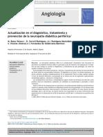 Actualización en El Diagnóstico, Tratamiento y Prevención de La Neuropatía Diabética Periférica