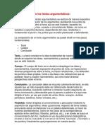 Características de Los Textos Argumentativos