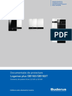 Documentatie Proiectare Buderus Logamax Plus GB192i GB192iT