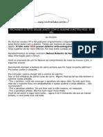 ClubeDoVectra - Upload by Rohde - Fechando o Teto Solar Com o Alarme