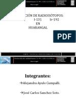 Produccion de Radioisotopos