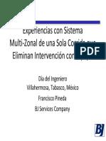 06 - Sistema Multizonal, BJ Services