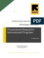 Procurement Manual for International Programs 2016 (1)_Part1