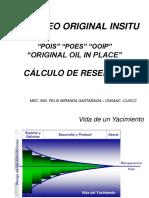 35) Petróleo Original Insitu