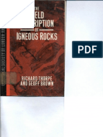 Richard Thorpe_The Field Description of Igneous Rocks