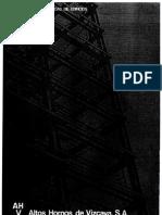 Estructuras metálicas  de edificios