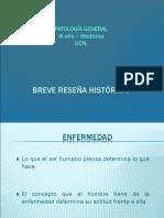 Historia de La Patología