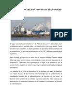 Contaminación Del Mar Por Aguas Industriales
